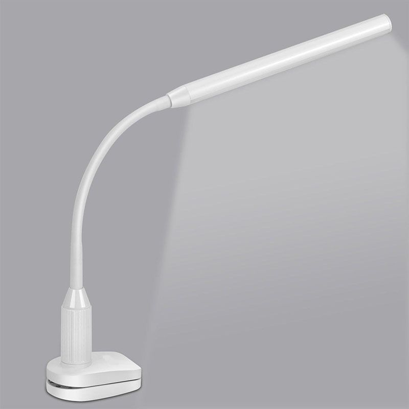 Eye Protect LED Table Lamp Study Desk Lamp Clamp <font><b>Clip</b></font> Light office Stepless Dimmable Bendable USB Touch Switch Sensor Control