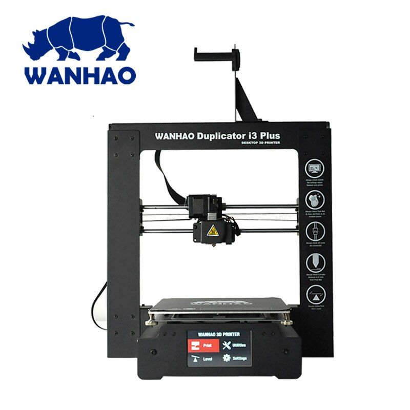 New 2018! 3D printer i3 Plus Mark 2 WANHAO print with auto bed leveling