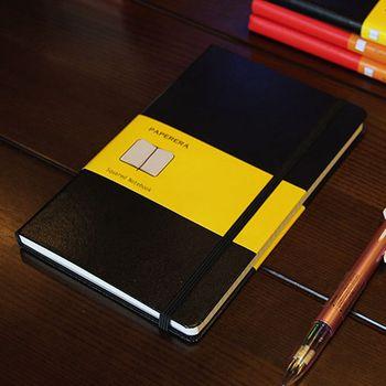 Классический твердый переплет офисный школьный блокнот канцелярские принадлежности, тонкий бандаж планировщик блокнот, 4 вида Внутренняя ...