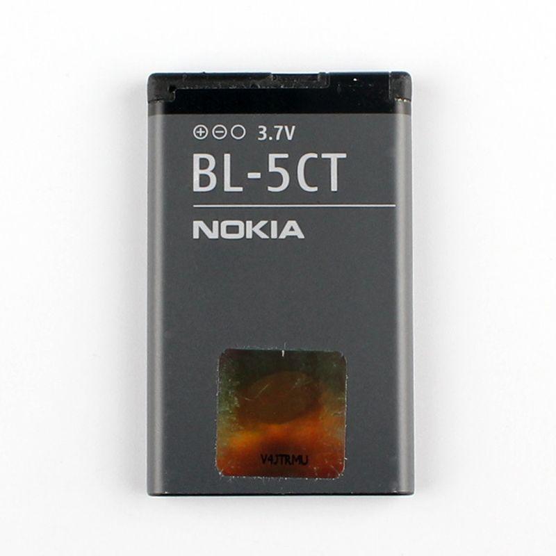 D'origine Nokia BL-5CT batterie de téléphone pour Nokia 5220 5220XM 6730 C5 6330 6303i C5-00 C6-01 C3-01 6303C BL5CT batterie
