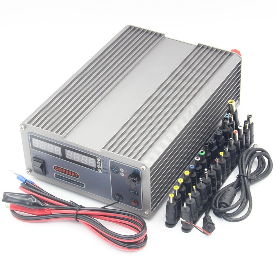 CPS-6017 Updated Version 1000W 0-60V/ 0-17A,High power Digital Adjustable DC Power Supply CPS6017 220V