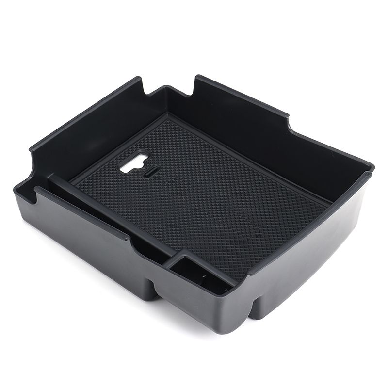 Car Interior Storage Box center Glove Box Armrest Multifunctional Stowing Box For Hyundai Elantra 2016 2017 Plastic Black