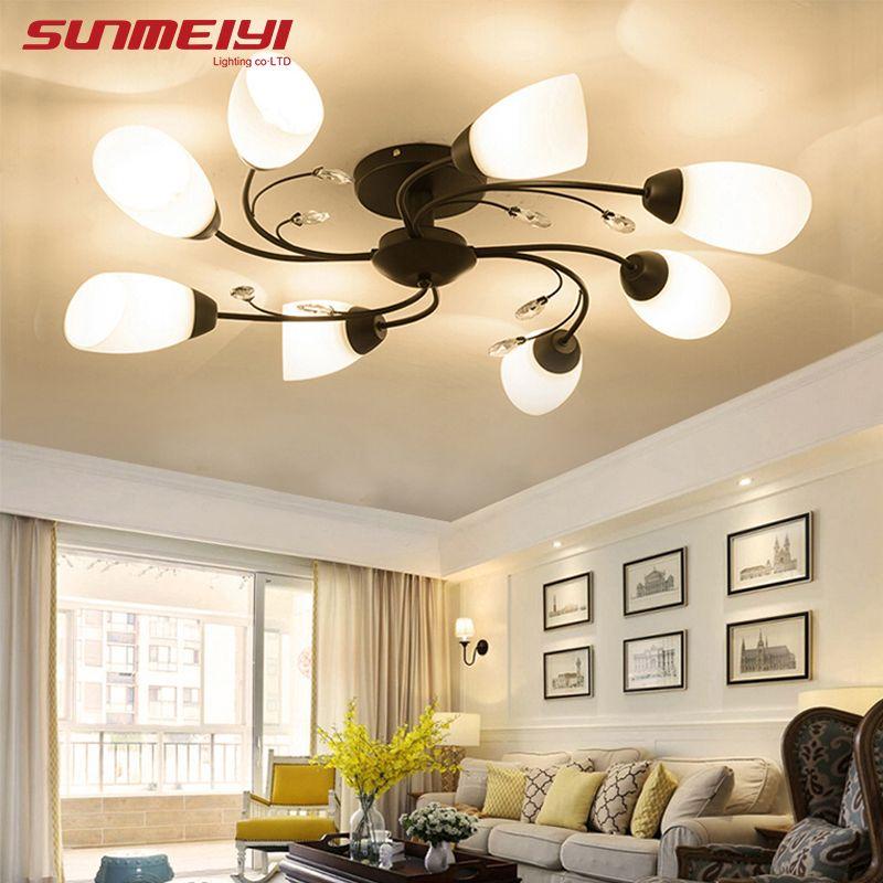 Modern LED Ceiling Lights Home Lighting Living room lampy sufitowe Light Fixtures luminaria de teto Bedroom Ceiling Lamp