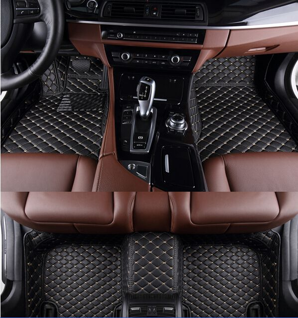 Top quality! Custom special car floor mats for New BMW G30 520d 530d 550d 2018 Easy to clean waterproof carpets,Free shipping
