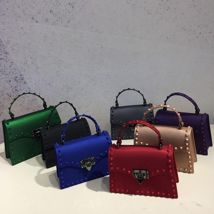 2018 Brand Women Messenger Bags Luxury <font><b>Handbags</b></font> Women Bags Designer Jelly Bag Fashion Shoulder Bag Women PU Leather <font><b>Handbags</b></font>