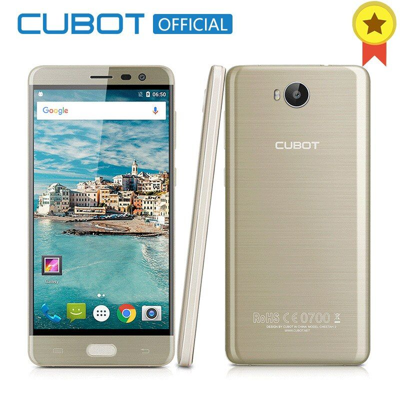 ГЕПАРД 2 Смартфон Cubot MT6753 Octa Ядро 5.5 Дюймов FHD 3 ГБ RAM 32 ГБ ROM Сотовый Телефон Разблокирован Android 6.0 Мобильный телефон