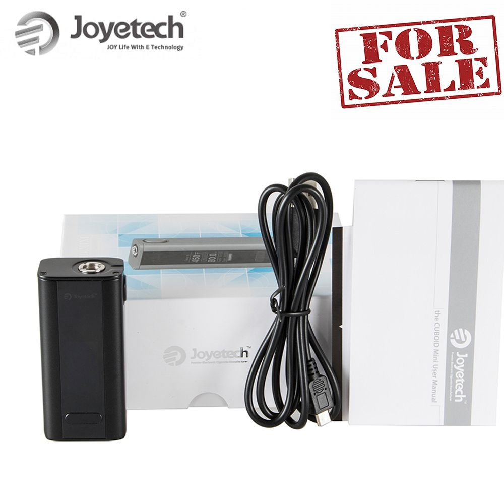 Hot Sale! Russia warehouse Original Joyetech Cuboid Mini Battery Mod 1-80W Output Built-in 2400mah e-Cigarette