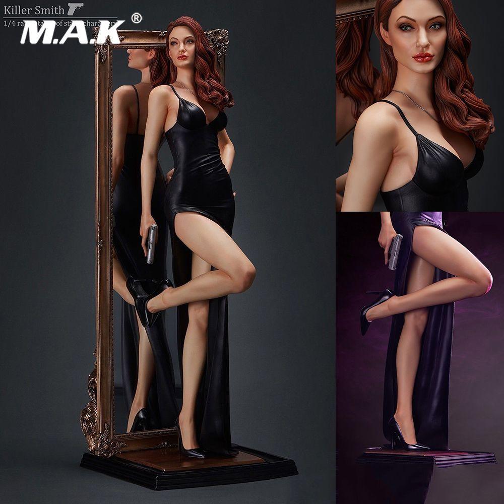 Sammeln Volle Set MY-00001 Mörder Smith Angelina Jolie Statue 1/4 Skala Action Figur Modell Spielzeug für Geschenk