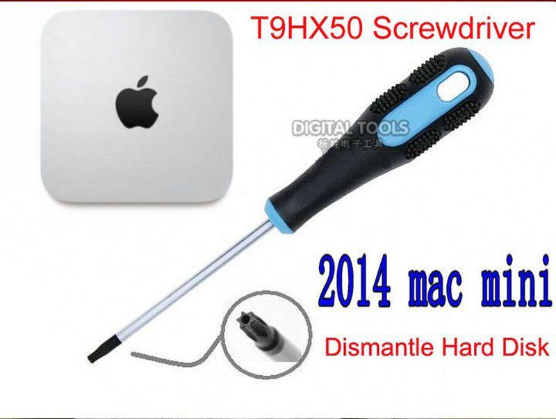 TR9 T9HX50 Torx Moyen Trou Tournevis Pour Démanteler Disque Dur de Apple Mac Mini Fin 2014 Haute En Acier Au Carbone Magnétique précision