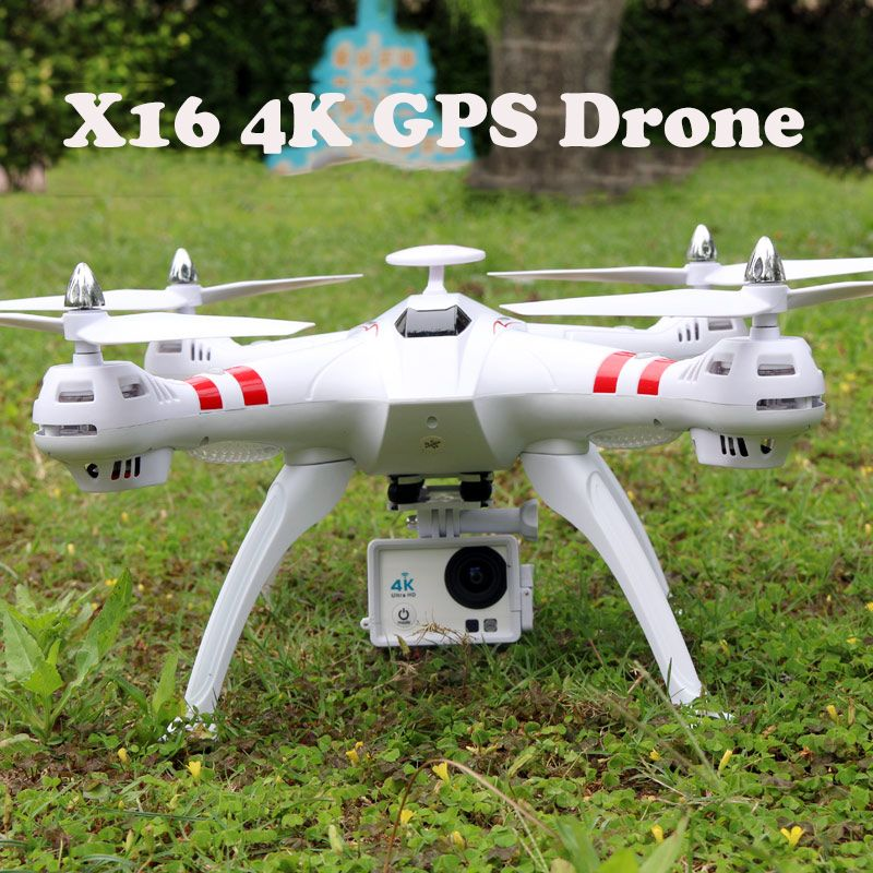 4K Drone Brushless Motor X16 GPS Real-Time RC Helicopter RC Drone With Camera HD 2.4Ghz 6Axis RTF RC Quadcopter 1080p Dron FPV