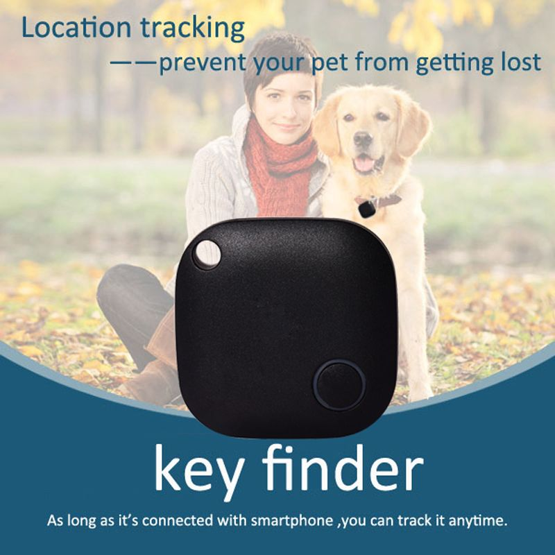 Anti-Lost Object Smart Tag key Finder built-in GPS map with Bluetooth 4.0 Smart App Selfie Shutter