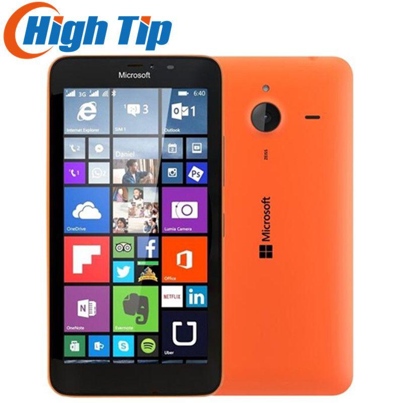Nokia Original Microsoft Lumia 640XL Quad-core 8GB ROM mobile phone 4G WIFI GPS 13MP 1080P Camera Refurbished cell phone