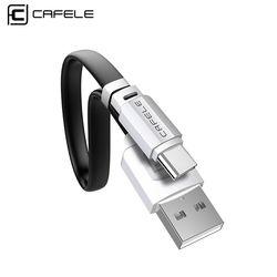 Cafele cable USB tipo C carga rápida USB tipo C para oneplus 5 xiaomi 6 Samsung S8 USB tipo C cable 5 V 2.1A