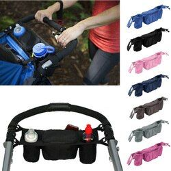 9 Color Universal Cup bag Baby Stroller Organizer Baby Carriage Pram Baby Cup Holder Stroller Accessories Bag for Kinderwagen
