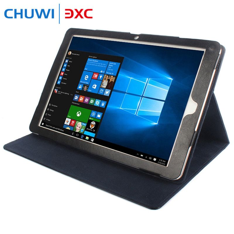 Original PU Leather Protective Tablet Case Cover for Chuwi Hi12 with Full Body Folding Design Stand Holder Function