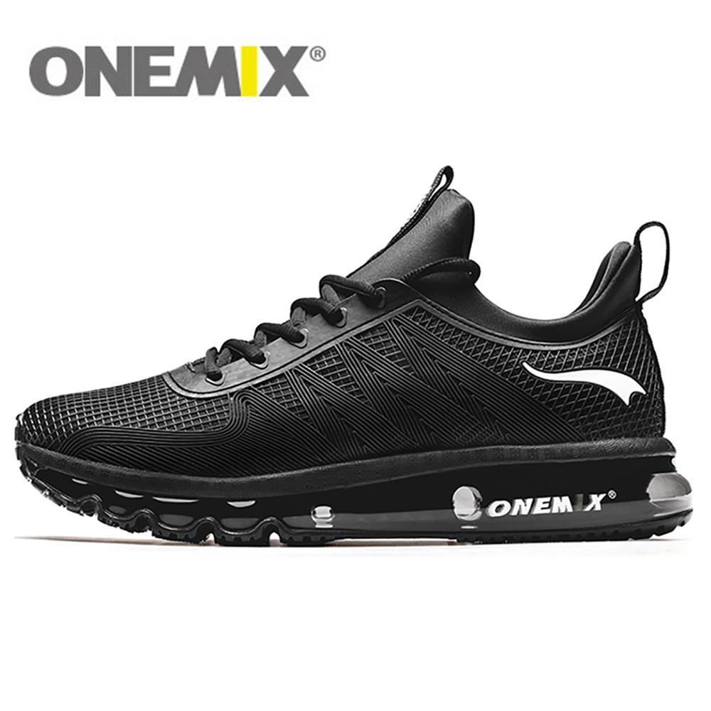 ONEMIX hommes chaussures de course décontracté plein Air Jogging Air amorti Gym Fitness baskets Max 12