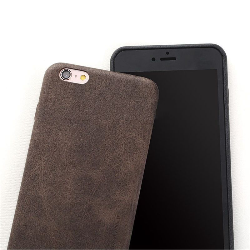X-Level Leather Retro Case For Iphone 7 Plus Luxury Back Cover Cases For Apple Iphone 7plus Phone Shell
