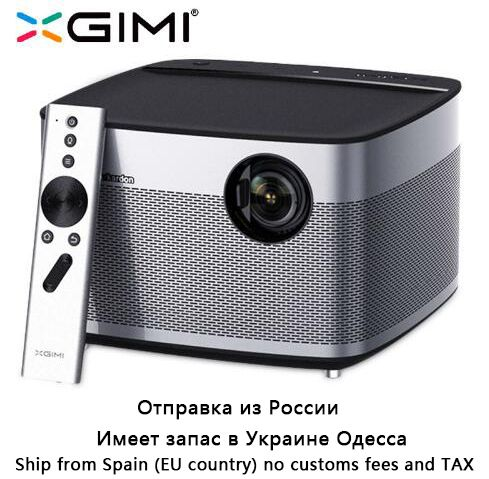 Original XGIMI H1 Projector Home Theater 300 Inch 1080P Full HD 3D 3GB/<font><b>16GB</b></font> Android 5.1 Bluetooth Wifi Suppor4K DLP TV Beamer
