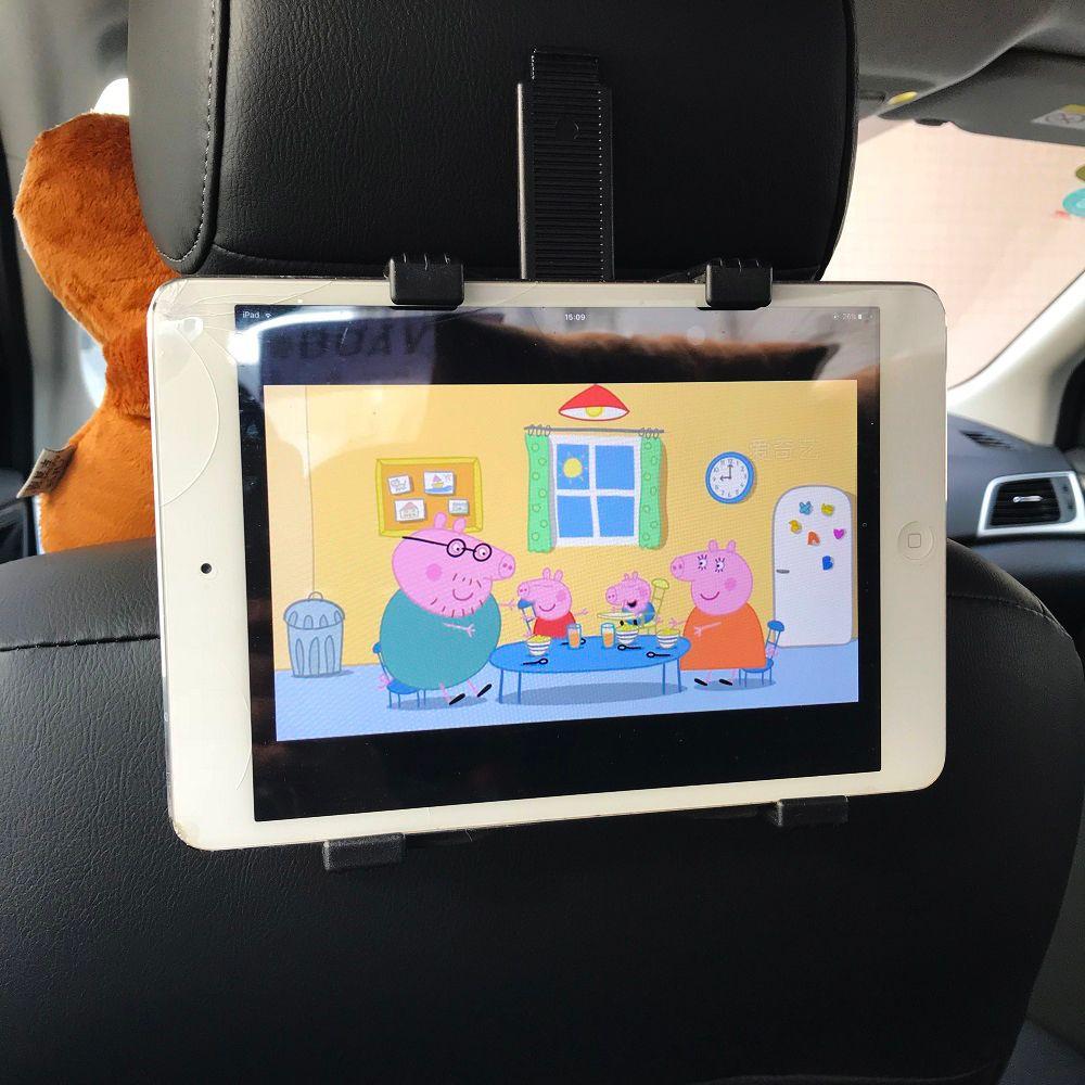 Kovader 4-12 pouce Support de Téléphone Universel De Voiture Tablet Stands 360 Rotatif Support De Siège Arrière Appui-Tête Support de Montage pour ipad Mini