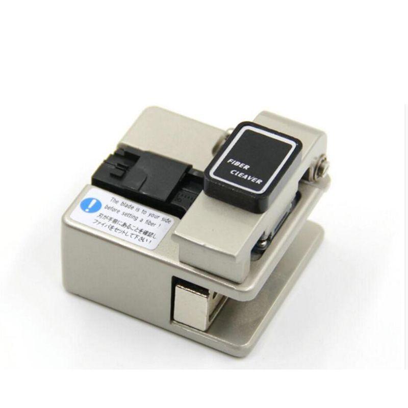 High Precision Fiber Optic Cutter Used in FTTX FTTH 48,000 Fiber Cleaves Optical Fiber Cleaver Free shipping