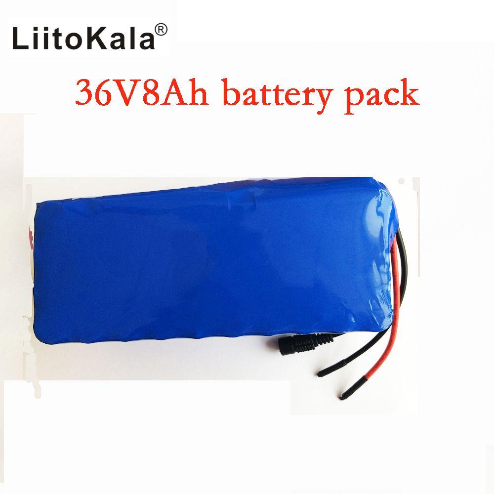 Liitokala 36 V 8ah bateria DE Alta's capacitonidade pacote DE Massa + nao incluem 42 V 2A chager