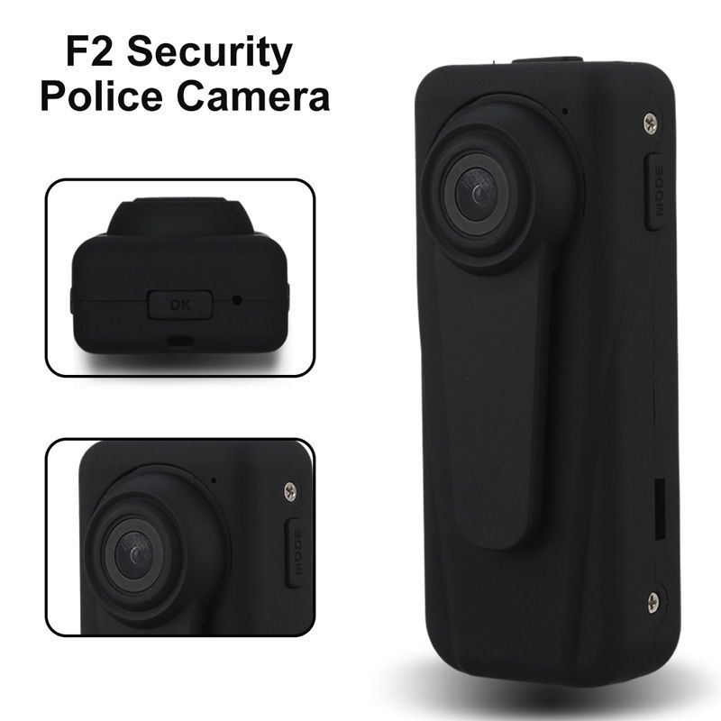 Blueskysea F2 1080 P HD полиции Камера 140 градусов охранник Регистраторы петли Запись Мини DVR Средства ухода за кожей карман 850 мАч батарея
