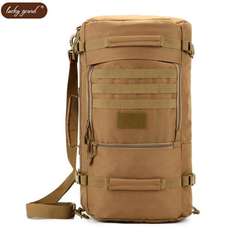 New military backpack male 50 L water-proof Oxford 1680 d backpack tourist waterproof leisure joker bags camouflage luxury clutc