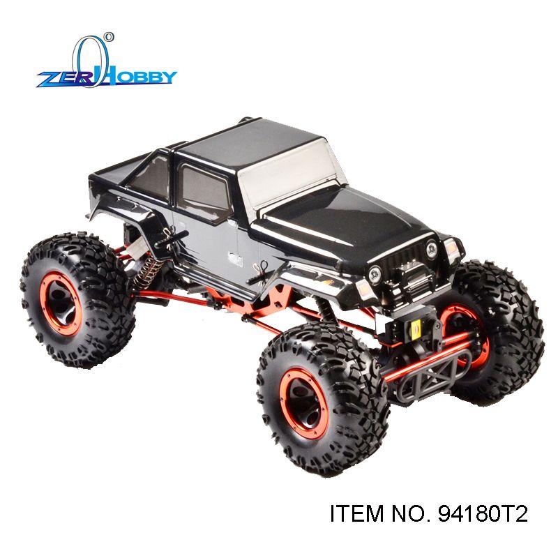 HSP marteau grimpeur 4X4 RC voiture roche chenille 1/10 électrique hors route sur chenilles quatre roues directrices 94180 T2