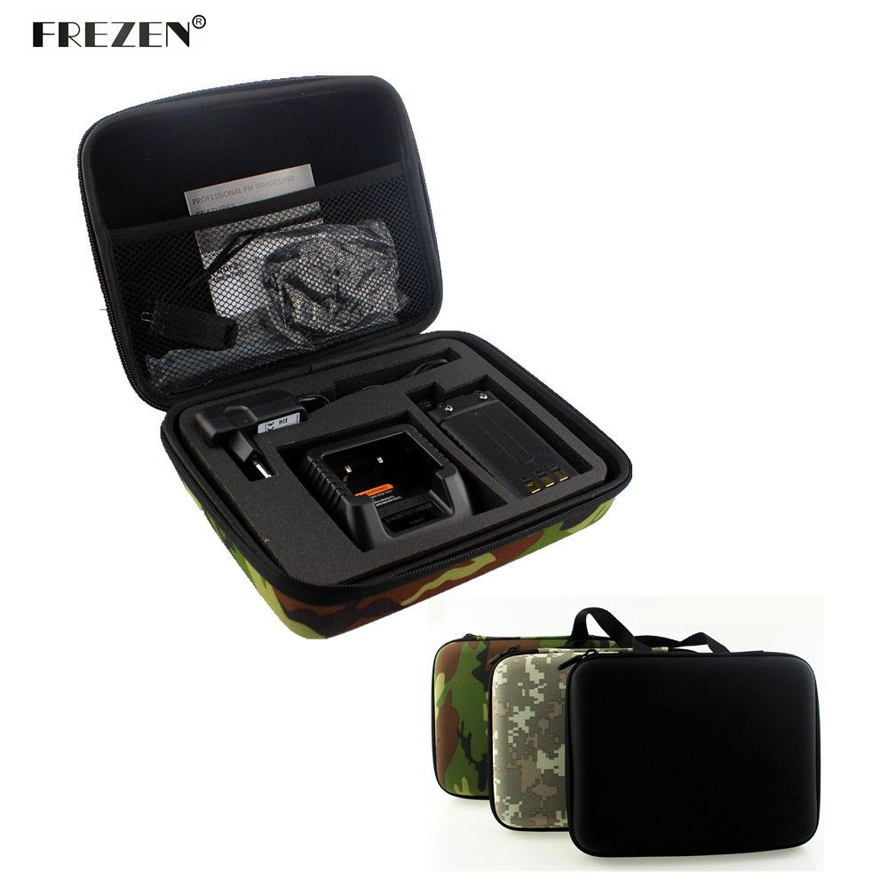 Two Way Radio Cas Carring Sac À Main De Stockage Pour BAOFENG UV-5R UV-5RE + TYT TH-F8 Talkie Walkie Lancement Chasse Sac Camouflage Radio