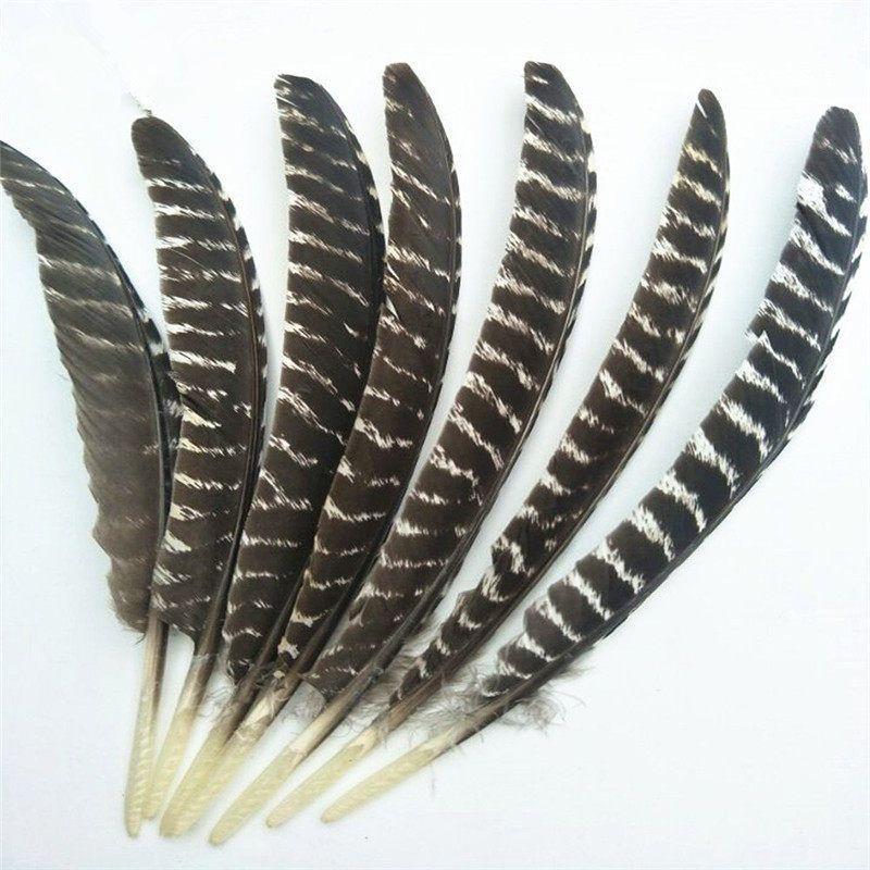 Erschrecken Reale Natürliche Adler federn 16-18 Zoll (20-40 CM) qualität Adler vogel feder Für Hochzeit dekoration diy schmuck Plumes