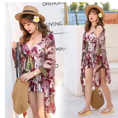 2018 164 16 hot black colorful bikini bandeau summer newest color handmade crochet bow halter swimwear women Floral swimsuit