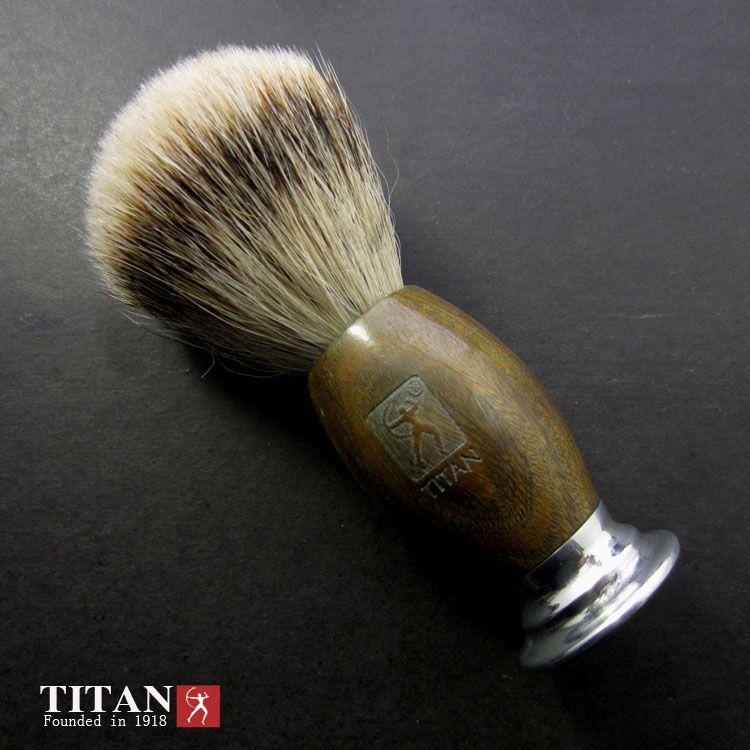 Titan rasoir brosse blaireau cheveux brosse rasoir