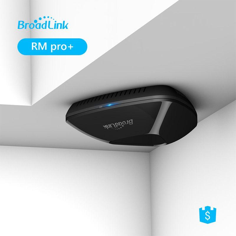 Broadlink RM33 RM PRO + Universel Intelligent À Distance Contrôleur Smart Domotique WiFi + IR + RF Commutateur Via IOS android Téléphone