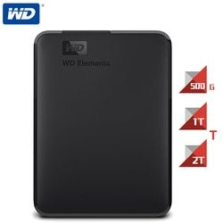 Western Digital WD Elements Portable HDD External Hard Disk Drive 1TB500G2TB 2.5