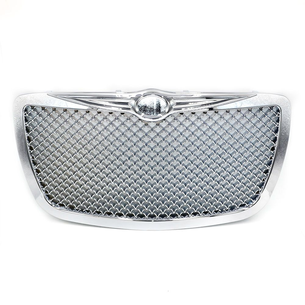 CNSPEED Racing Car Front Grills for Chrysler 2004 2005-2010  300C 300 Limited Tour Chrome Grille Grille Mesh XS101088