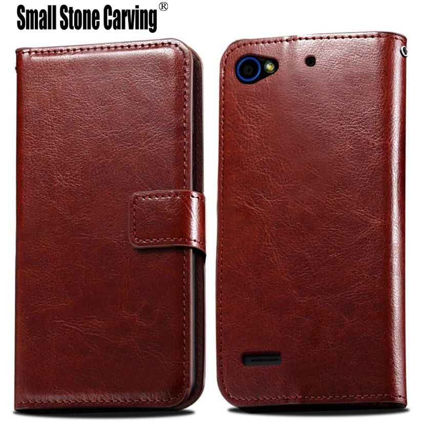 Hot Sale PU Leather Book Case For ZTE Blade L4 T610 A460 Cover Flip With Stand Design Card Slots Luxury Phone Back Cover
