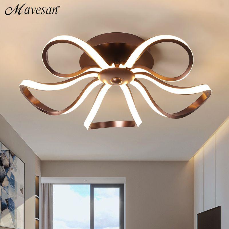 Led Modern Chandelier Lighting Novelty Lustre Lamparas ceiling Lamp for Bedroom Living Room luminaria Indoor Light Chandeliers