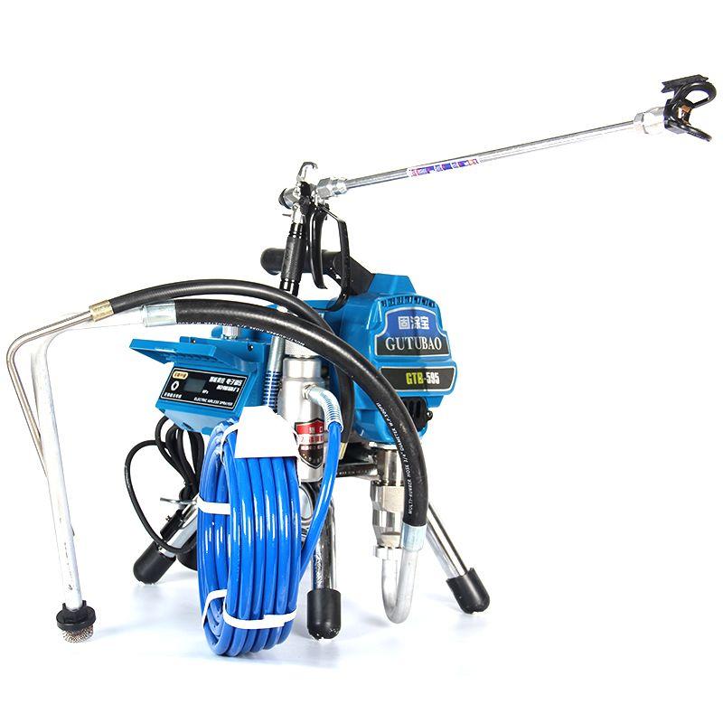 Professionelle airless spritzen maschine Professionelle Airless Spritzpistole 2800 watt 3.0L Airless Farbe Sprayer 595 malerei maschine werkzeug