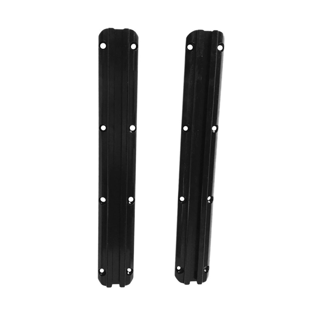 Durable 2Pcs/Pair 300mm Kayak Aluminum Slide Track Rails DIY Accessories for Kayak Canoes Inflatable Fishing Boat Accessories