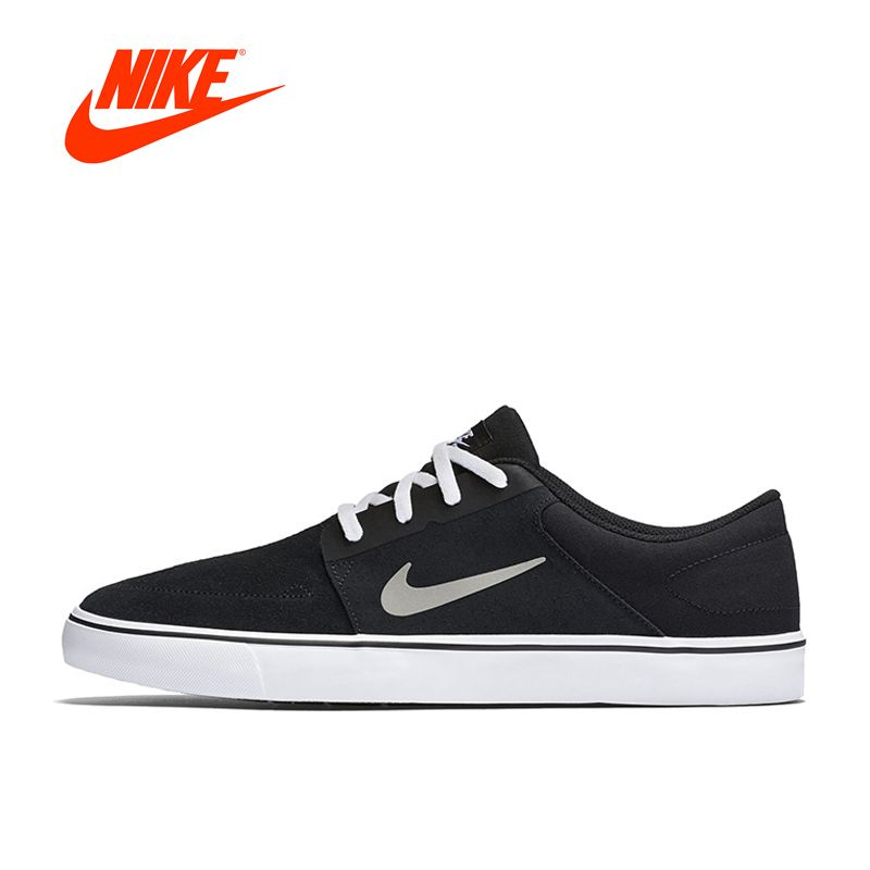 Original New Arrival Official NIKE SB PORTMORE Men's Breathable Skateboarding Shoes Sports Sneakers