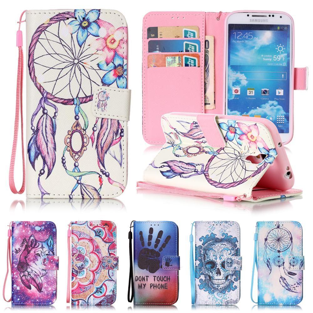 Für Samsung Galaxy S4 S 4 GalaxyS4 GT I9500 I9505 I9506 GT-I9500 GT-I9505 GT-I9506 Coque Leder Silikon Abdeckung Flip Fall taschen