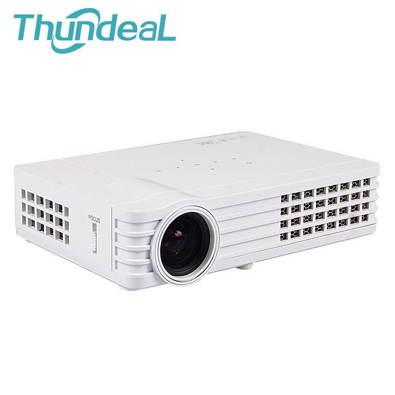 ThundeaL Shutter Aktive 3D DLP Projektor DLP-600W DLP900W Android WiFi Bluetooth 450 Ansi Lumen HD 3D Video Mini Projektor