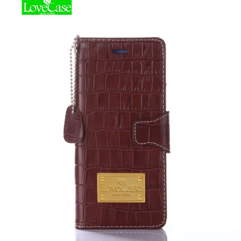 LoveCase Crocodile Skin Genuine Leather Wallet Style Case For Samsung Galaxy Note 8 S8 S9 Plus Flip Phone Case Bag For noet 9