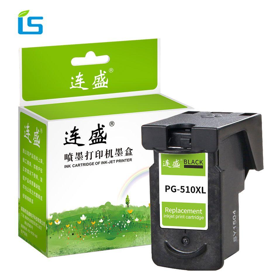 1 pcs Imprimante Cartouche D'encre PG-510 PG510 PG 510 XL NOIR D'encre cartouche Pour Canon iP2700 Pixma MP250 MP270 MP280 MP480 MX320 MX330