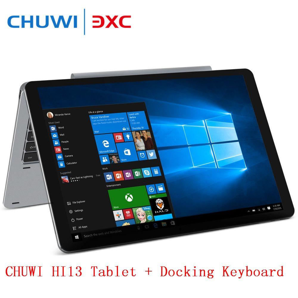 CHUWI Hi13 3000X2000 3K 13.5 inch 2 in1 Tablet PC IPS Screen Windows Tablets Apollo Lake N3450 Quad Core 4GB 64GB Dual WiFi OTG