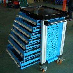 Automotores herramientas de almacenamiento móvil carro de herramientas de Metal 7 cajones con 255 unidades herramientas