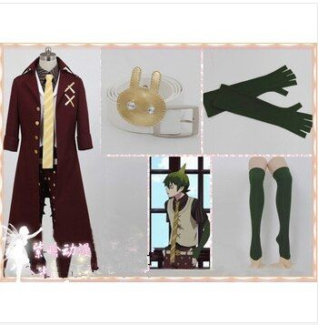 Anime Blue Exorcist / Ao no Exorcist King of Earth Amaimon Cosplay Costume