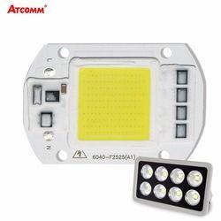 СВЕТОДИОДНЫЙ матричный 20 W 30 W 50 W 110 V 220 V Диодная матрица высокой Мощность умная интегральная микросхема свет для прожектора матрица открыты...