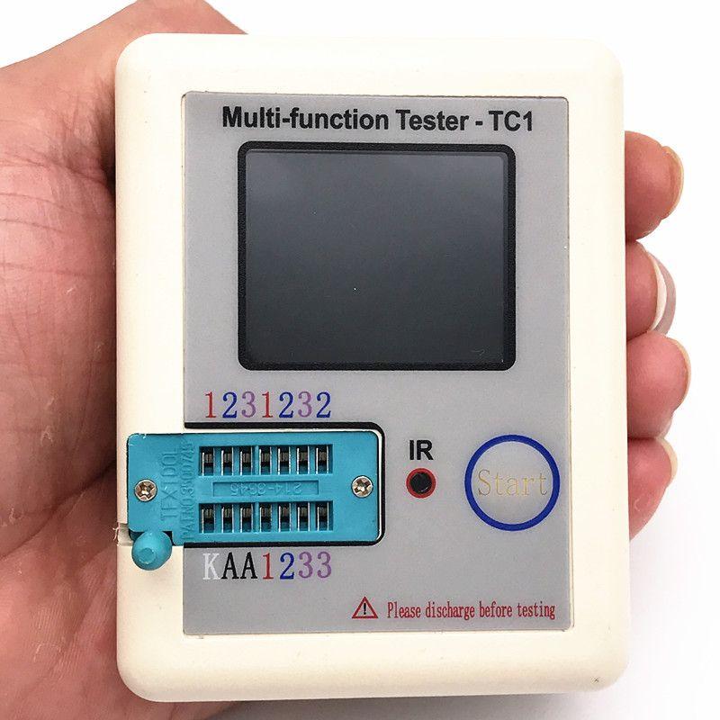 2017 LCR-TC1 Transistor Tester TFT Diode Triode Capacitance Meter LCR ESR NPN PNP MOSFET
