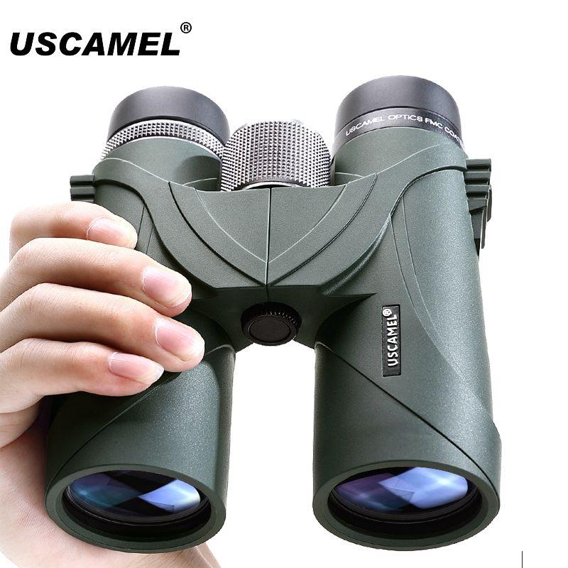 USCAMEL Fernglas Optical Militär HD 8x42 10x42 High Power Teleskop Professionelle Jagd Outdoor Teleskop